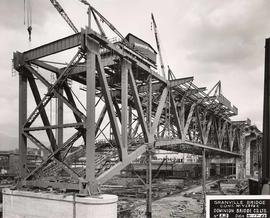 No. 23 - Granville Bridge, course of construction
