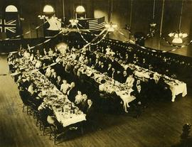 [First installation banquet of B'nai B'rith in Vancouver]