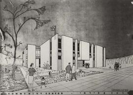 Drawing of community centre