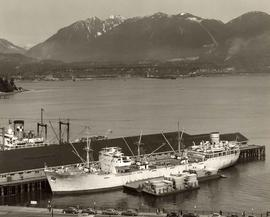 Harbour scene - near the Second Narrows at Burrard Inlet