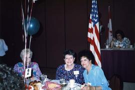 [Renee Lifchus and friend at B'nai B'rith Women convention]
