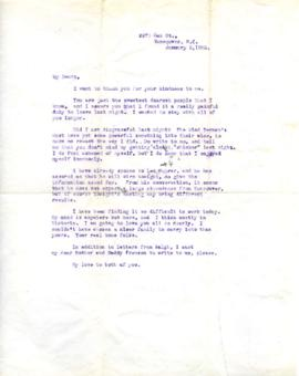 Letter from Ann, January 3, 1932