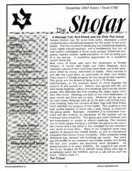 The Shofar - December 2007