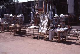 [Market kiosks, possibly in Egypt]