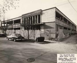 Salvation Army Men's Social Centre, no. 4, facing southwest, Vancouver