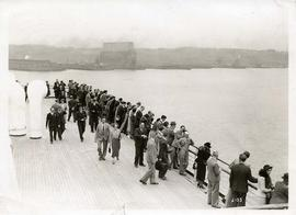 "New York Oct 1936 SS ""Queen Mary"""