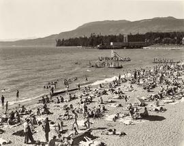 New beach scene, English Bay