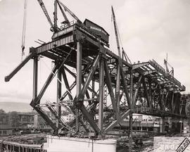 No. 25 - Granville Bridge, course-of-construction