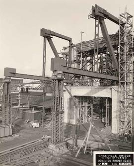 No. 2 - Granville Bridge, course of construction