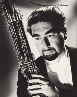 George B. Zukerman, internationally acclaimed solo bassoonist