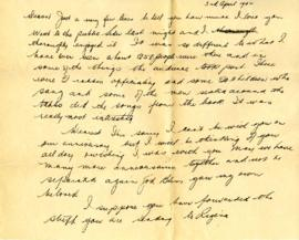 Letter from Ralph, April 3, 1942