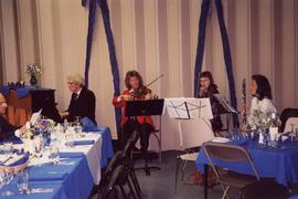 [Musicians at the Congregation Har El event honoring the philanthropy of Dr. Irving and Phyliss S...