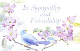 Sympathy card from Ann Savenye and the White Rock and Surrey Naturalist Sunshine Committee, [1998]