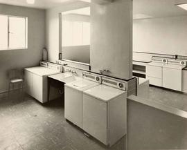 'The Hollies' ext. & int. set, laundry room