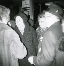 Abe and Rose Stern arrive at Vancouver Airport from Odessa