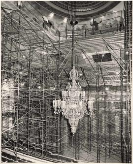 Renovations to interior of Orpheum Theatre, 884 Granville Street, Vancouver, British Columbia