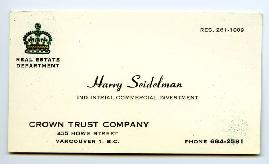 Business Card [1964-1972]