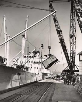 Canadian Stevedoring Co. Ltd., at Pacific Coast Terminal, New Wesminster