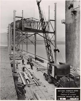 National Harbours Board no. 3 Jetty Project, course of construction, no. 4