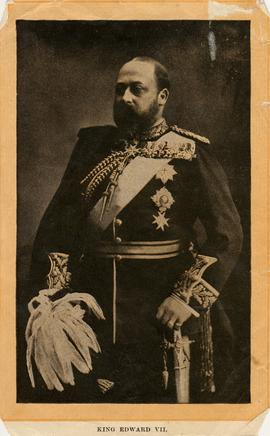 King Edward VII in formal military dress