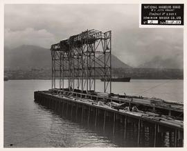 National Harbours Board no. 3 Jetty Project, course of construction