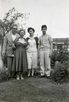 Ralph, Ann, Elaine, and Teddy