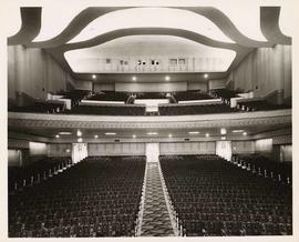 Audience seating, Vogue Theatre, 918 Granville Street, Vancouver, British Columbia