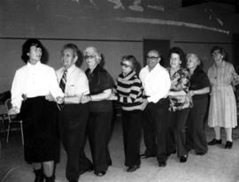 Golden Agers learn disco