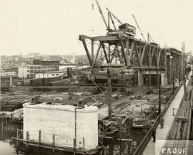 No. 15-A - Granville Bridge, course-of-construction