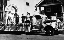 State of Israel Float Wins Prize