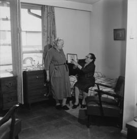 Female residents of the Jewish Home for the Aged