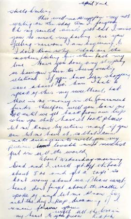Letter from Ralph, April 2, 1933