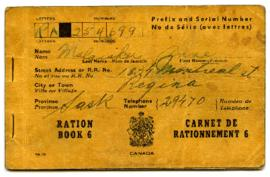 Ration Book - [Anne Malasku]