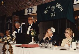 B'nai B'rith #668 75th birthday
