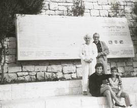 Sylvia & Bill Nemetz (in Israel?)
