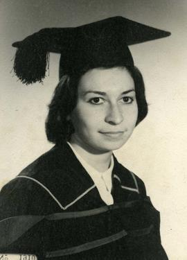 Shirley Dayson UBC [graduation photo]