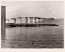 National Harbours Board, No. 3 Jetty Project, course of construction