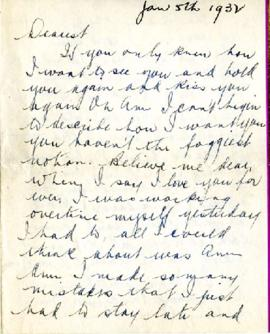 Letter from Ralph, January 5, 1932