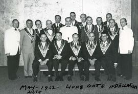 May 26th - 1962 - Lions Gate installation