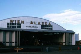 Building designated for Wien Alaska Airlines