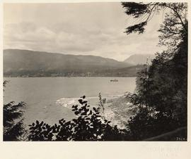 Burrard Inlet from Stanley Park, Vancouver, British Columbia