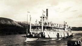 S[tea]mer Caska between Whitehorse & Dawson 1937