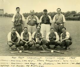 B'nai B'rith International softball champs - 1955