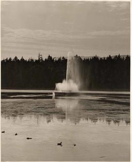 Lost Lagoon Fountain, Stanley Park, Vancouver, British Columbia