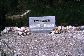 Grave of Elizabeth J. and David W. Ballentine