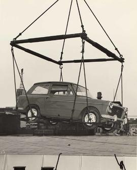 Cargo of British cars on the S.S. 'Mostun'