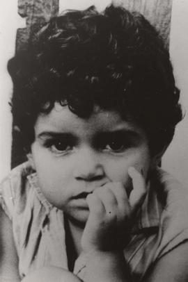 Unidentified child, Naamat Mission in Israel