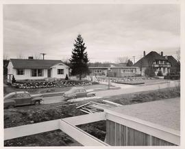 Residence neighbourhood, construction, survey photos at University of British Columbia for Marwel...