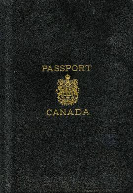 Canadian passport for Morris and Rose Soskin October 15, 1932