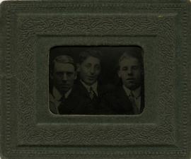 Harry Seidelman and two unidentified men